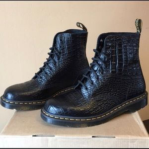 Dr Martens Pascal Croc Boot   Poshmark